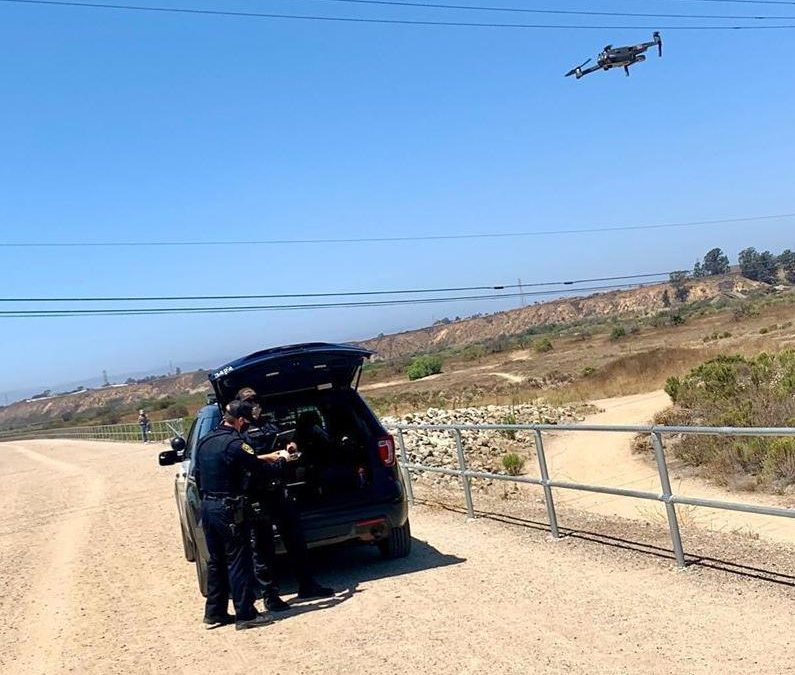 Santa Maria Police catch stabbing suspect in first-ever drone arrest
